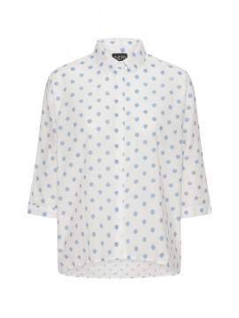Chopin Anni bigdot shirt - Light blue