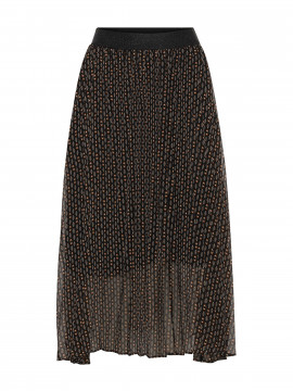 Chopin Babette geometrique skirt -  Black
