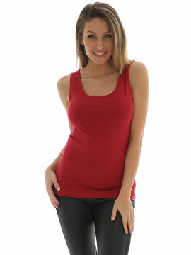 Chopin Sue II tank top - Cherry