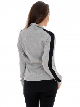 Blue Sportswear Iben sweat jacket - Grey mel.
