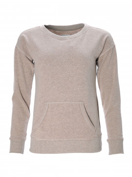 Blue Sportswear Oxbow miniflecce sweat - Camel melange