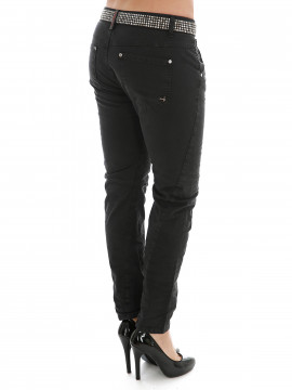 Sexy Woman Bremen regular pants - Black