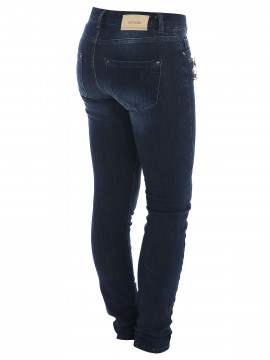 Mos Mosh Berlin Zip Freedom - Blue denim