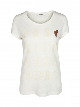 Mos Mosh Crave summer tee - Offwhite