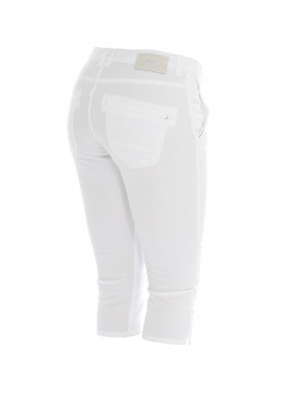 Mos Mosh Etta colour 3/4 pants - White