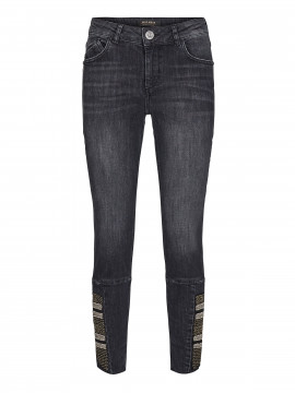 Mos Mosh Rome Deco 7/8 jeans - Grey denim