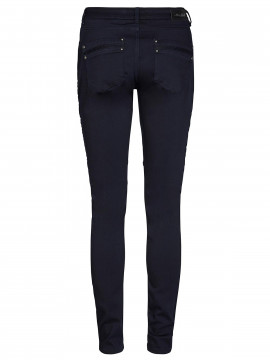 Mos Mosh Hale Tuck pant - Navy