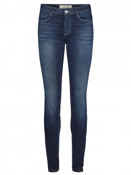 Mos Mosh Jade Cosy jeans - Dark blue denim