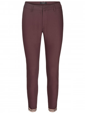 Mos Mosh Abbey glam zip pant - Chocolate