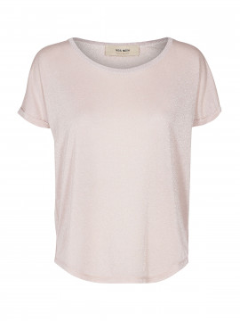 Mos Mosh Kay o-neck tee - Pale rose
