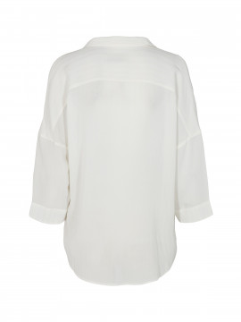 Mos Mosh Nava stitch top - Off white