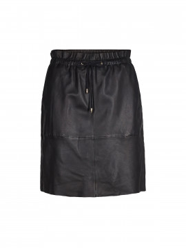 Mos Mosh Ellie Leather skirt - Black