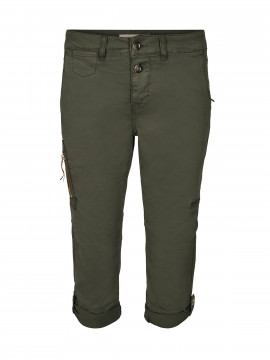 Mos Mosh Valerine deco 3/4 cargo pant - Grape leaf