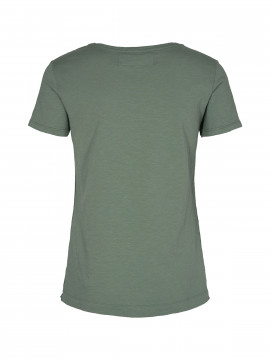 Mos Mosh Arden O-neck tee - Green Bay