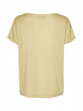 Mos Mosh Kay o-neck tee - Shadow lime