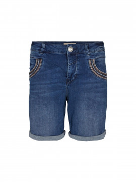 Mos Mosh Naomi muscat denim shorts - Blue denim