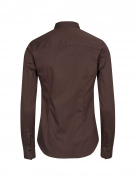 Mos Mosh Tilda shirt - Coffee bean