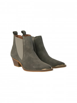 Mos Mosh Dallas Boot - Dark taupe