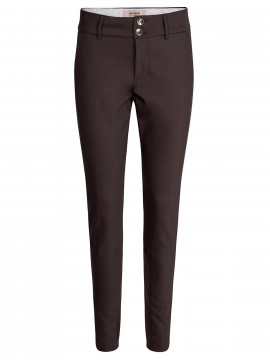 Mos Mosh Blake night pant sustainable - Coffee Bean