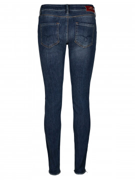 Mos Mosh Sumner blossom jeans - Mid blue wash