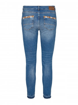 Mos Mosh Sumner decor 7/8 jeans - Light blue