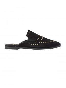 Mos Mosh Boston suede flat - Black