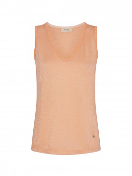 Mos Mosh Casio S/L top - Peach cobbler