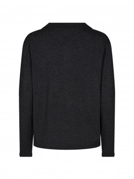 Mos Mosh Wylie lurex knit - Black