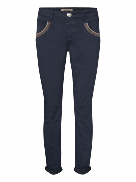 Mos Mosh Naomi Daze regular pant -  Navy