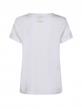 Mos Mosh Cherie S/S O-neck Tee - Winter pear