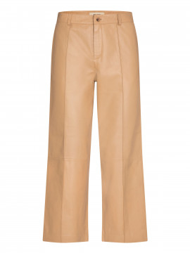 Mos Mosh Como leather pant - New sand