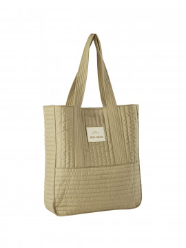 Mos Mosh Quilted bag - New sand