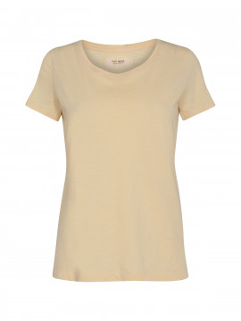 Mos Mosh Arden organic O-neck tee - Charmomile
