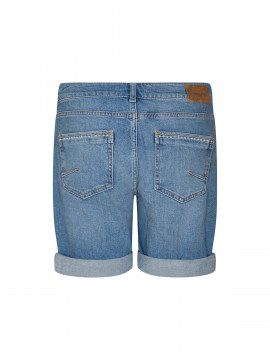 Mos Mosh Ava dive denim shorts - Light blue