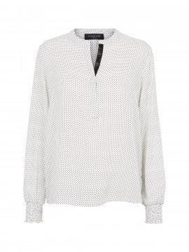 Prepair Sara dot shirt - Offwhite