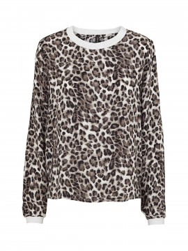 Prepair Vigga leopard  top - Grey