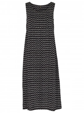 Prepair Beate zig-zag dress - Black