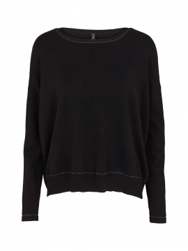 Prepair Lotte O-neck knit - Black