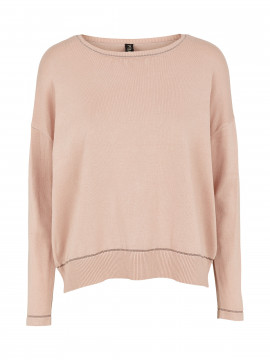 Prepair Lotte O-neck knit - Rosa