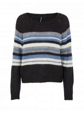 Prepair Naja stripe knit - Blue