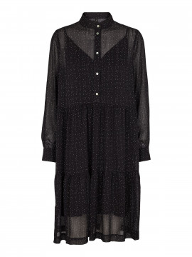 Prepair Meghan dot dress - Black