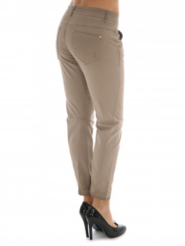 Costamani Tabita twill pants - Oildye Powder