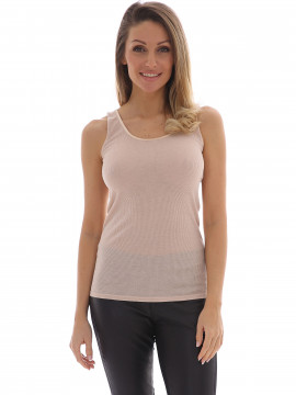 Costamani Agnes tank top - Powder