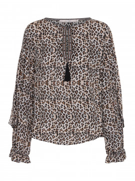 Costamani Remeo Top - Leopard