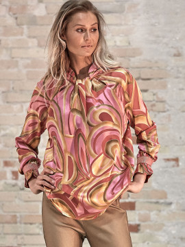 Costamani Sissel waves top - Pink