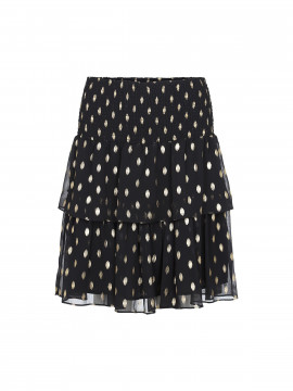 Costamani Scotty gold on skirt - Black