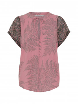 Costamani Helen top - Fern / wood