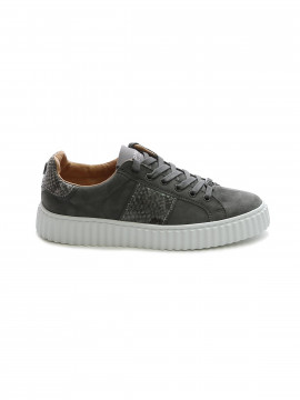 Philip Hog Mia suede sneakers - Grey