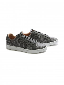 Philip Hog Julie snake sneakers - Grey