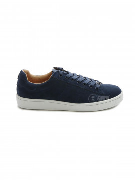 Philip Hog Serena suede sneakers - Navy